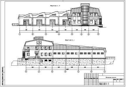 Архитектурная часть проекта автомоечного комплекса