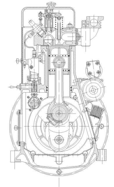 динамический расчет двигателя