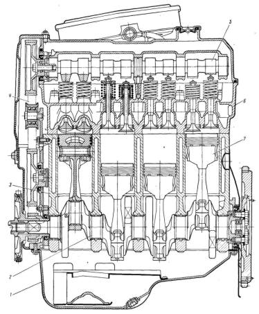 расчёт двигателя