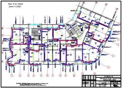 Проект отопления 8-10-ти этажного монолитного жилого дома
