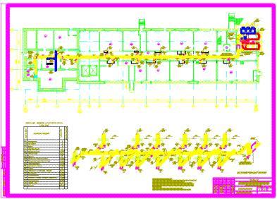 Проект конденционирования и вентиляции санатория профилактория.