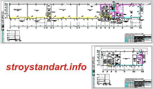 Отопление, вентиляция, конденционирование производственно-складского