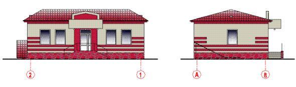 Паспорт покраски фасадов административного корпуса
