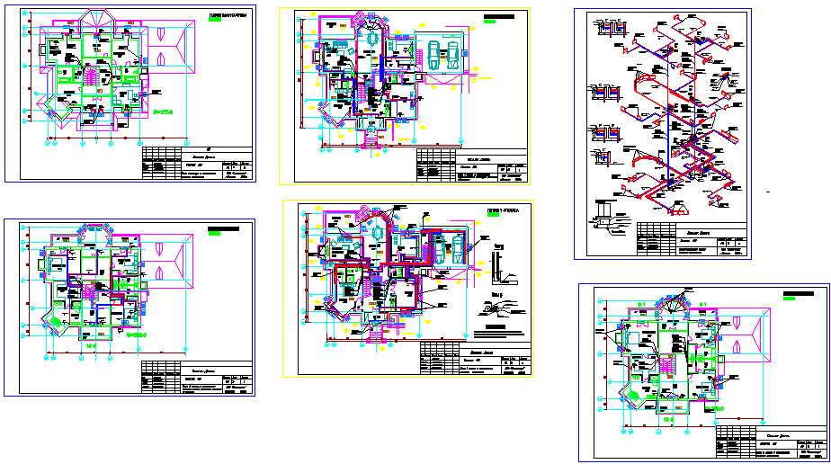 проект системы отопления