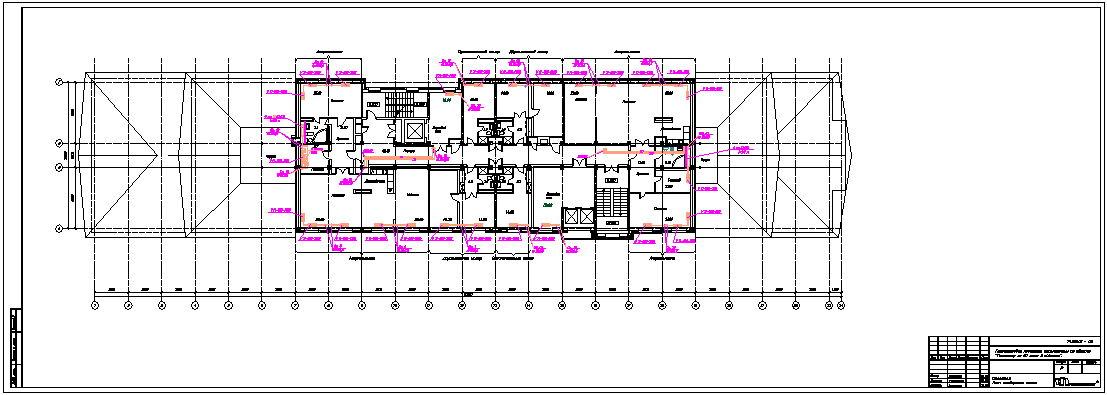 ОВ гостиницы схема отопления