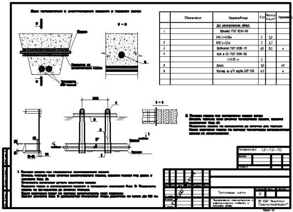Версия.  Проект тепловых сетей.  Проект подключения цеха кондитерской фабрики.  Категория.  Скачали: 422.