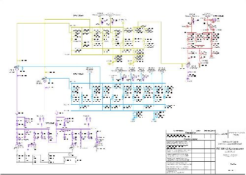 Схема подстанции 500 кв